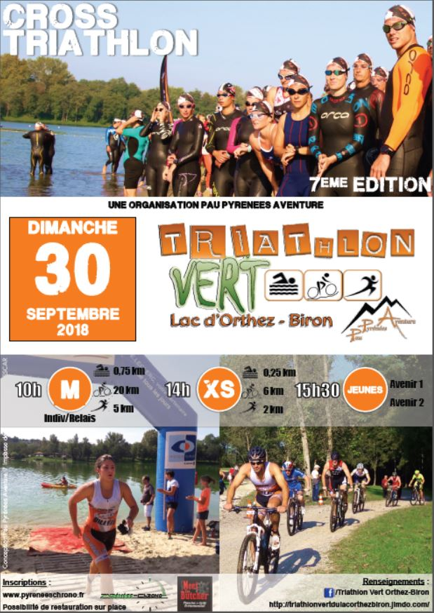 triathlon xs septembre 2018