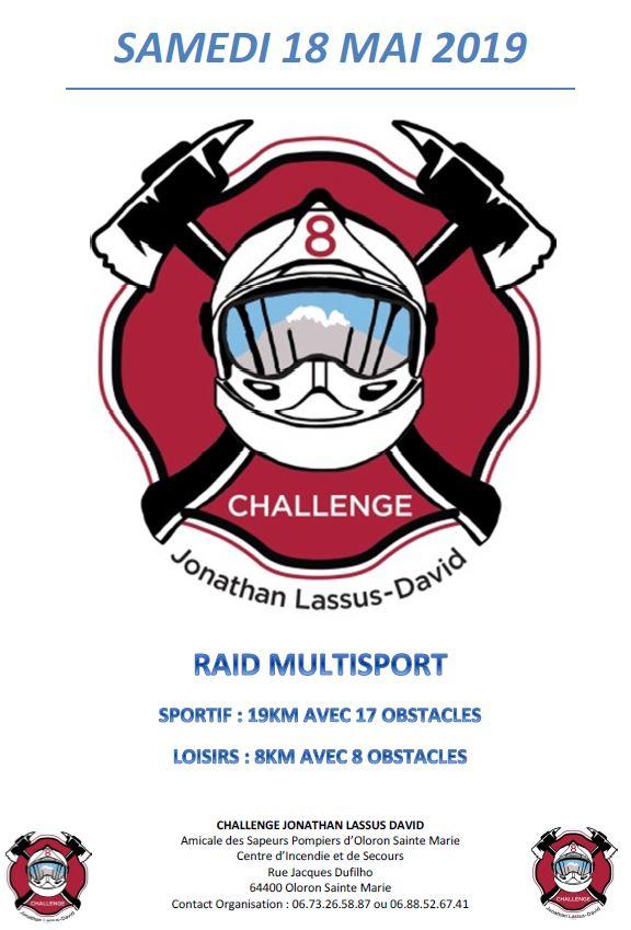 Calendrier Raid Multisport 2019.Challenge Jonathan Lassus David Pyrenees Chrono