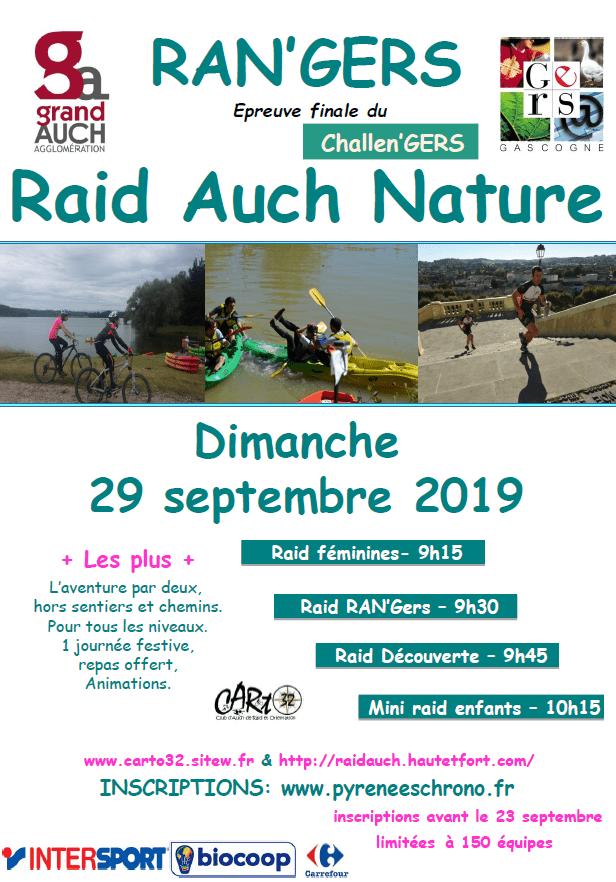 Calendrier Raid Multisport 2019.Raid Auch Nature Pyrenees Chrono